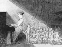 Charles Atamont Doyle - The pianist
