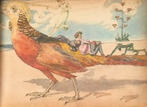 """Charles Altamont Doyle - Drawing from """"The Doyle Diary"""" 1889 (2)"""