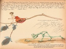"""Charles Altamont Doyle - Drawing from """"The Doyle Diary"""" 1889 (3)"""