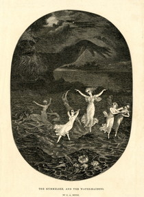 After Charles Altamont Doyle - The Mummelsee, and the Water-Maidens
