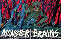 MONSTER BRAINS LOGO - Trevor Henderson