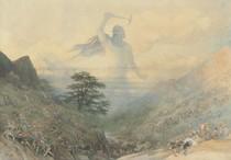 Richard Doyle - God Thor Chasing the Dwarfs