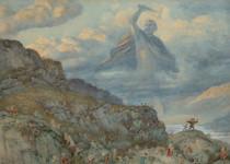Richard Doyle - God Thor Chasing the Dwarfs, 1878
