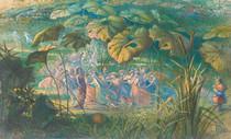 Richard Doyle - In fairy land, an Elfin dance