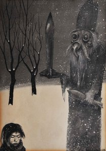 Bronisław Wojciech Linke - Santa Claus, 1957